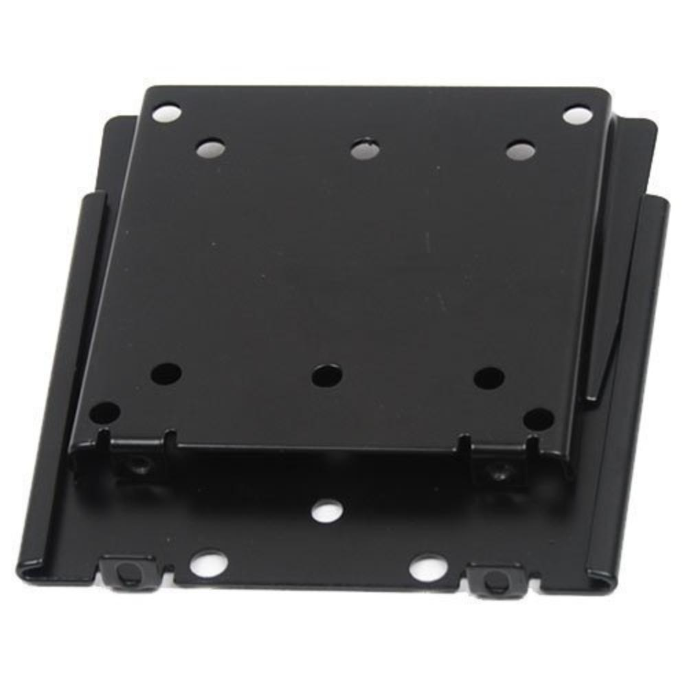 Ultra-Slim Black Fixed//Flat Low-Profile Wall Mount Bracket for TCL 32S3750 32 inch LED HDTV TV//Television
