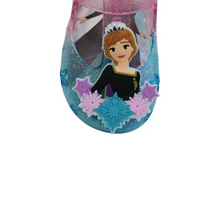 Disney Frozen 2 Anna and Elsa Casual Jelly Shoe (Toddler Girls)