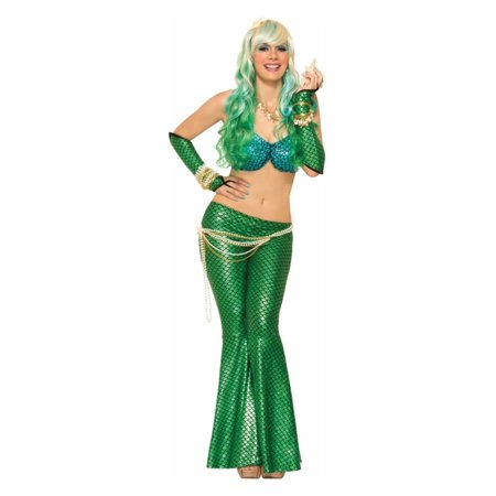 Walking Mermaid Women Costume Accessories Set](Mermaid Costume Womens)