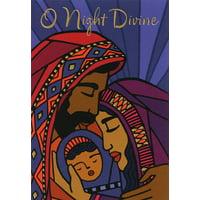 Hallmark O Night Divine Box of 16 African American Christmas Cards