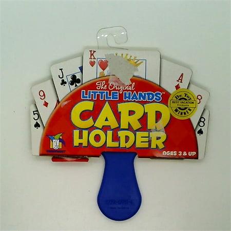 Gamewright Original Little Hands Card Holder 4 Part Lineup Card