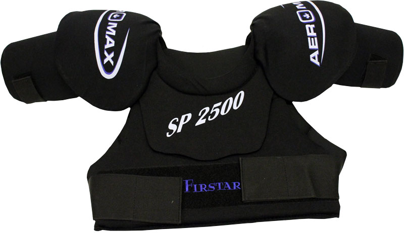 ICE HOCKEY SHOULDER PADS Size JR LARGE Firstar Aeromax SP1500 by