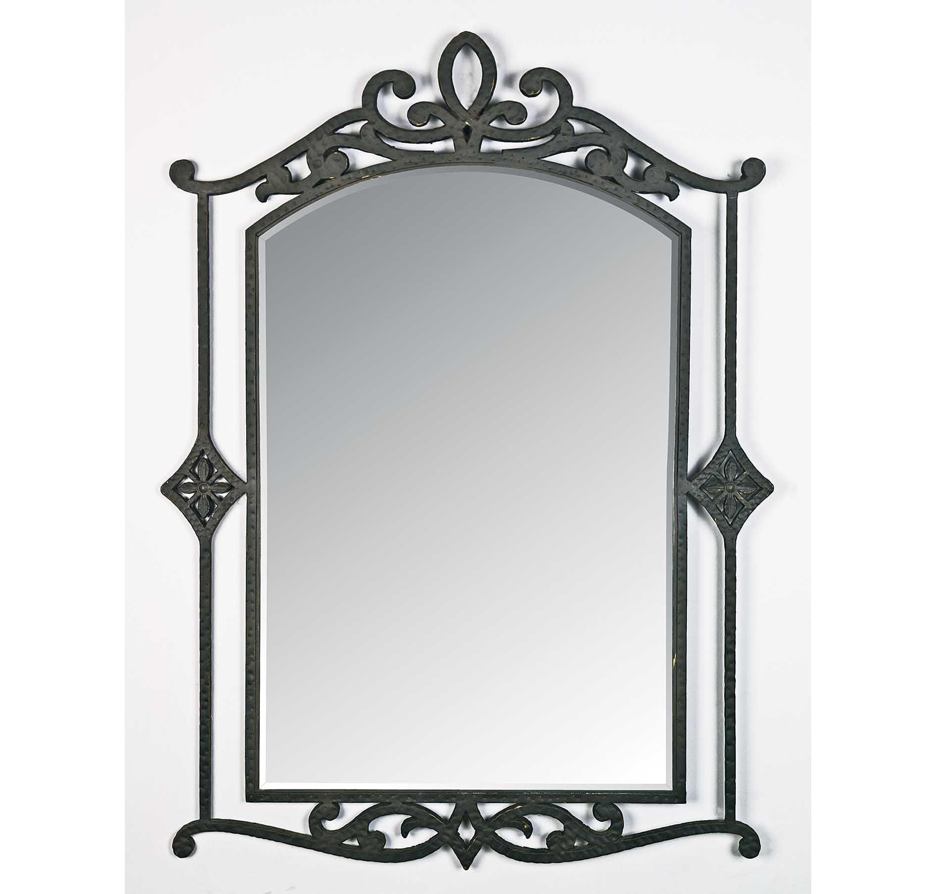 "Quoizel La Parra 29.5""W Mirror in Imperial Bronze"