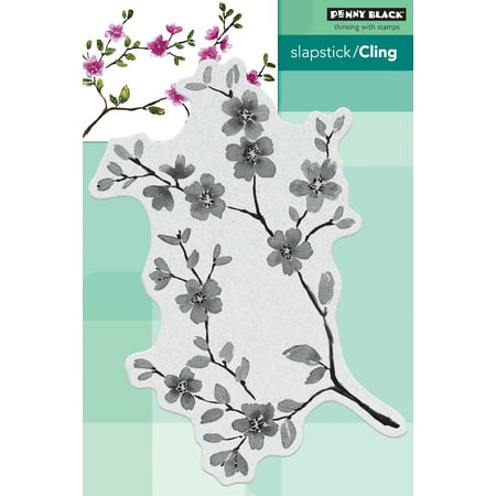 Cherry Blossom Stamps (Penny Black Cling Stamps-Blissful Blossoms )