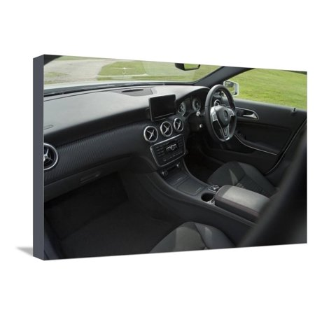 2013 Mercedes Benz A Class 250 AMG Stretched Canvas Print Wall (2013 Mercedes Benz Glk 250 For Sale)