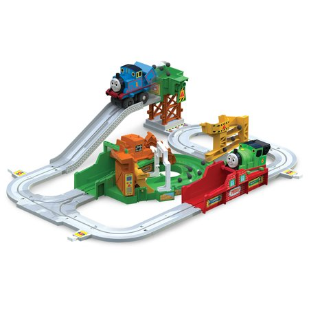 Thomas & Friends Big Loader, Sodor Delivery Motorized Toy Train Set for $<!---->