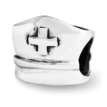 Reflection Beads QRS3520 Sterling Silver Reflections Nurse Hat Bead - image 1 de 1