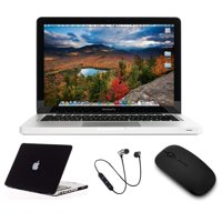 Refurbished B Grade Apple Macbook Pro 2.5GHz 13.3-inch 4GB RAM 1TB HDD Inlcudes: Case + Wireless Headset + Mouse