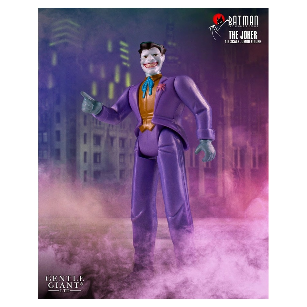 "Batman: The Animated Series Gentle Giant LTD. Joker Jumbo 12"" Action Figure"