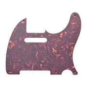 Suzicca 5 Hole TL50S Guitar Pickguard 3 Ply Panels Pickguard for TL Guitar