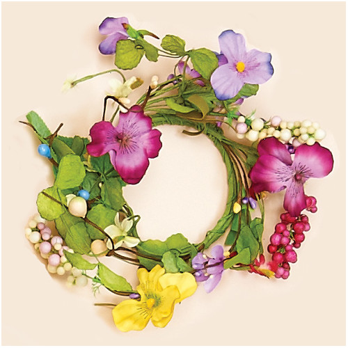 Worth Imports Pansy Candle Ring