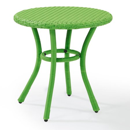 Crosley Palm Harbor Outdoor Wicker Round Side Table ()