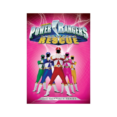 - Power Rangers Lightspeed Rescue : The Complete Series