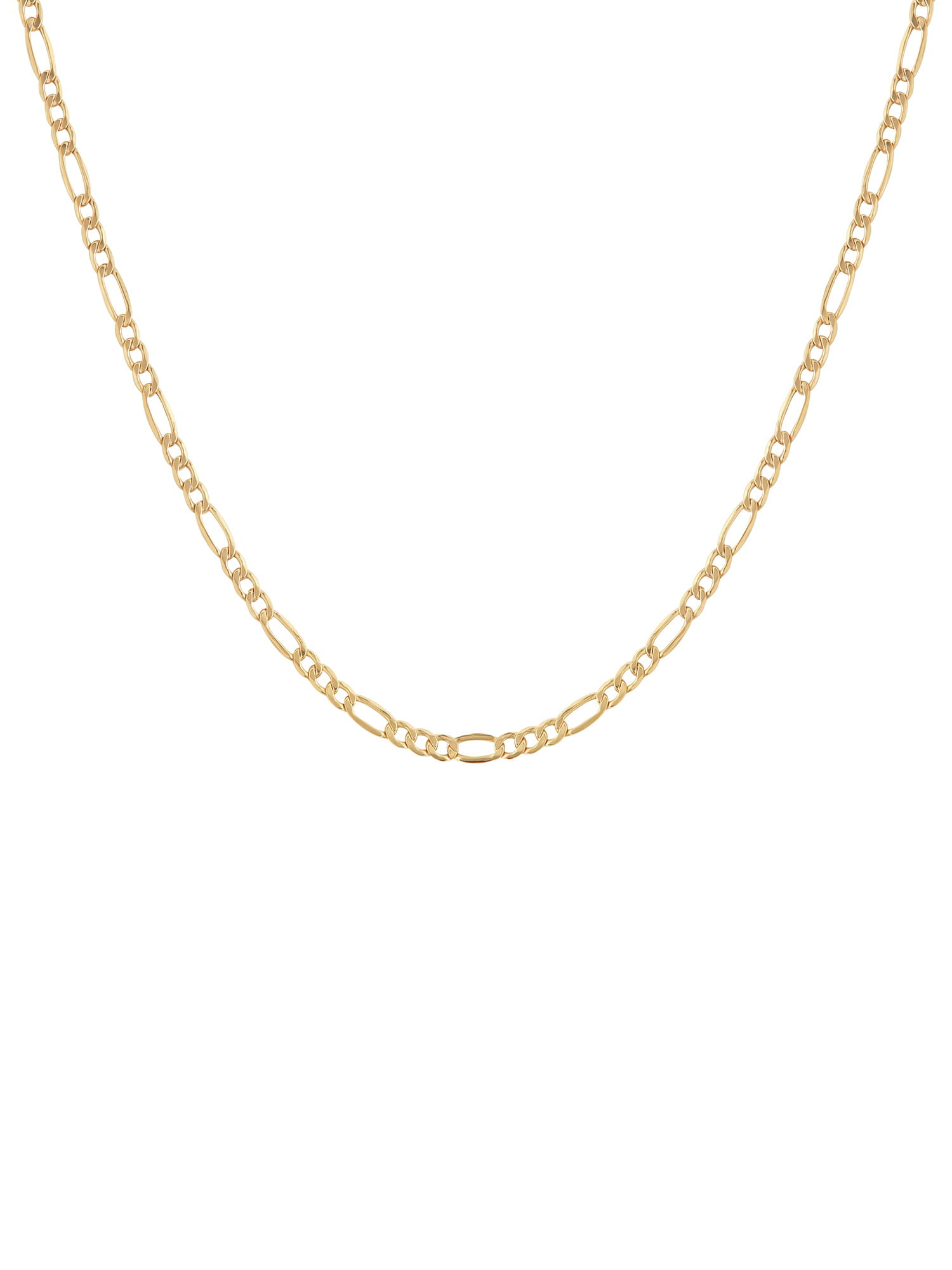 "Simply Gold 10KT Yellow Gold 4MM Figaro Chain, 22"" by Richline Group Inc"