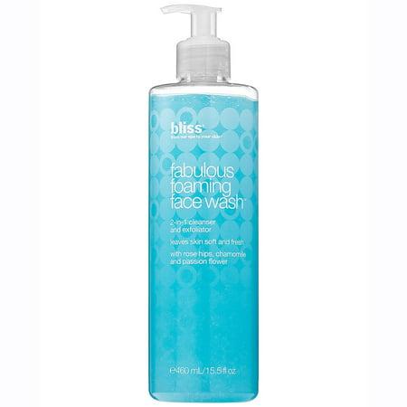 Fabulous Foaming Face Wash by Bliss for Women, 15.5 oz