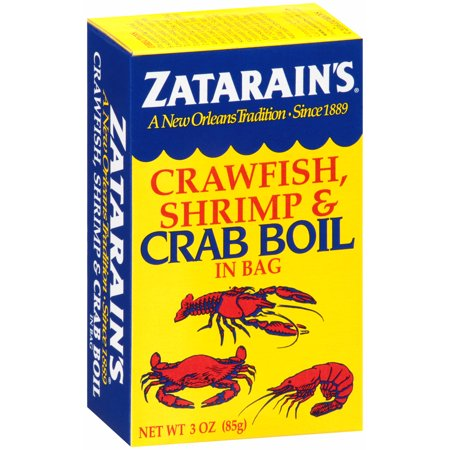 (4 pack) Zatarain's Crawfish, Shrimp & Crab Boil, 3