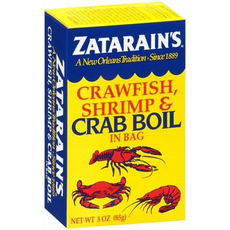 (4 pack) Zatarain's Crawfish, Shrimp & Crab Boil, 3 (Crab Spice)