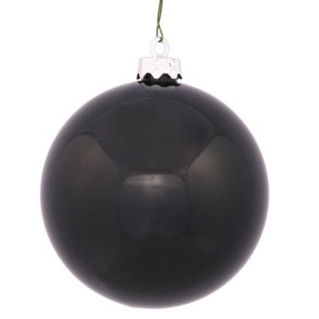 The Holiday Aisle Plastic Ball Ornament with Cap (Set of (60 Cap Set)
