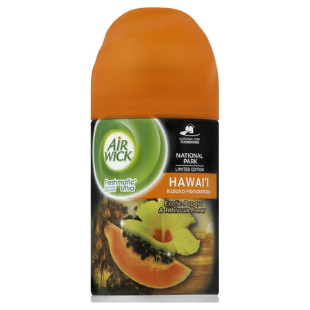 Air Wick  Freshmatic  National Park Limited Edition Hawaii Kaloko Honokohau Automatic Spray Refill 6 17 Oz  Aerosol Can