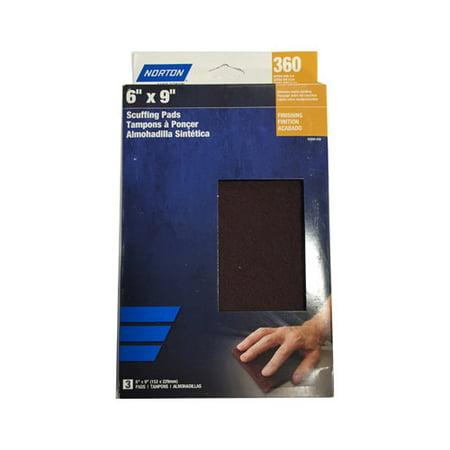 ALI INDUSTRIES 50262-038 3PK Green Scuff Pads ()