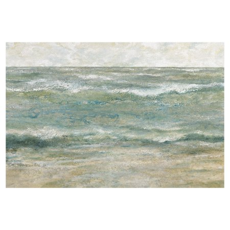 Masterpiece Art Gallery Shoreline 3 Ocean By Bob Chrzanowski Canvas Art Print 24