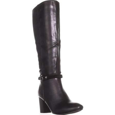 (Womens KS35 Galee Mid-Calf Dress Boots, Black)