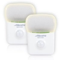Maxxima MLN-55W LED Motion Activated Night Light with 5 LEDs Warm White (Pack of 2)