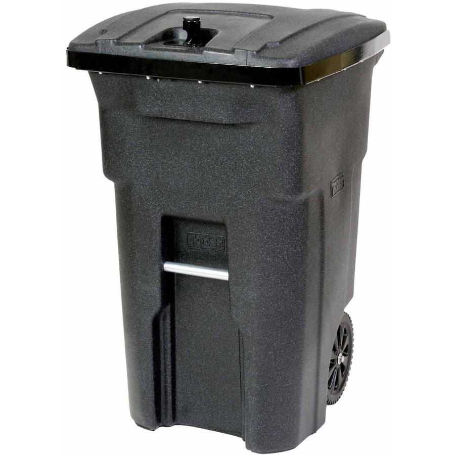 Toter 2-Wheel Bear Tight Trash Can Cart, 64 Gallon by