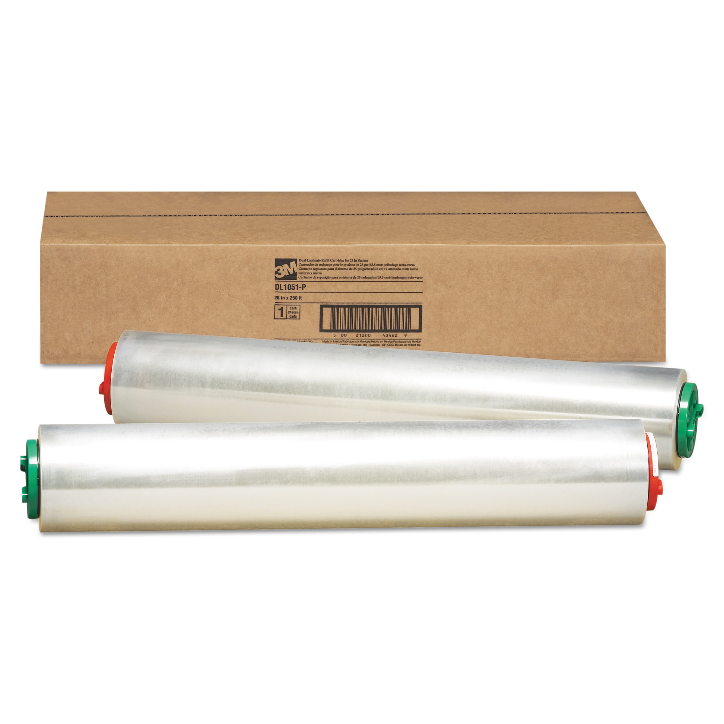 3M Refill Cartridge for Heat-Free Laminating Machines, 250 ft. -MMMDL1051P