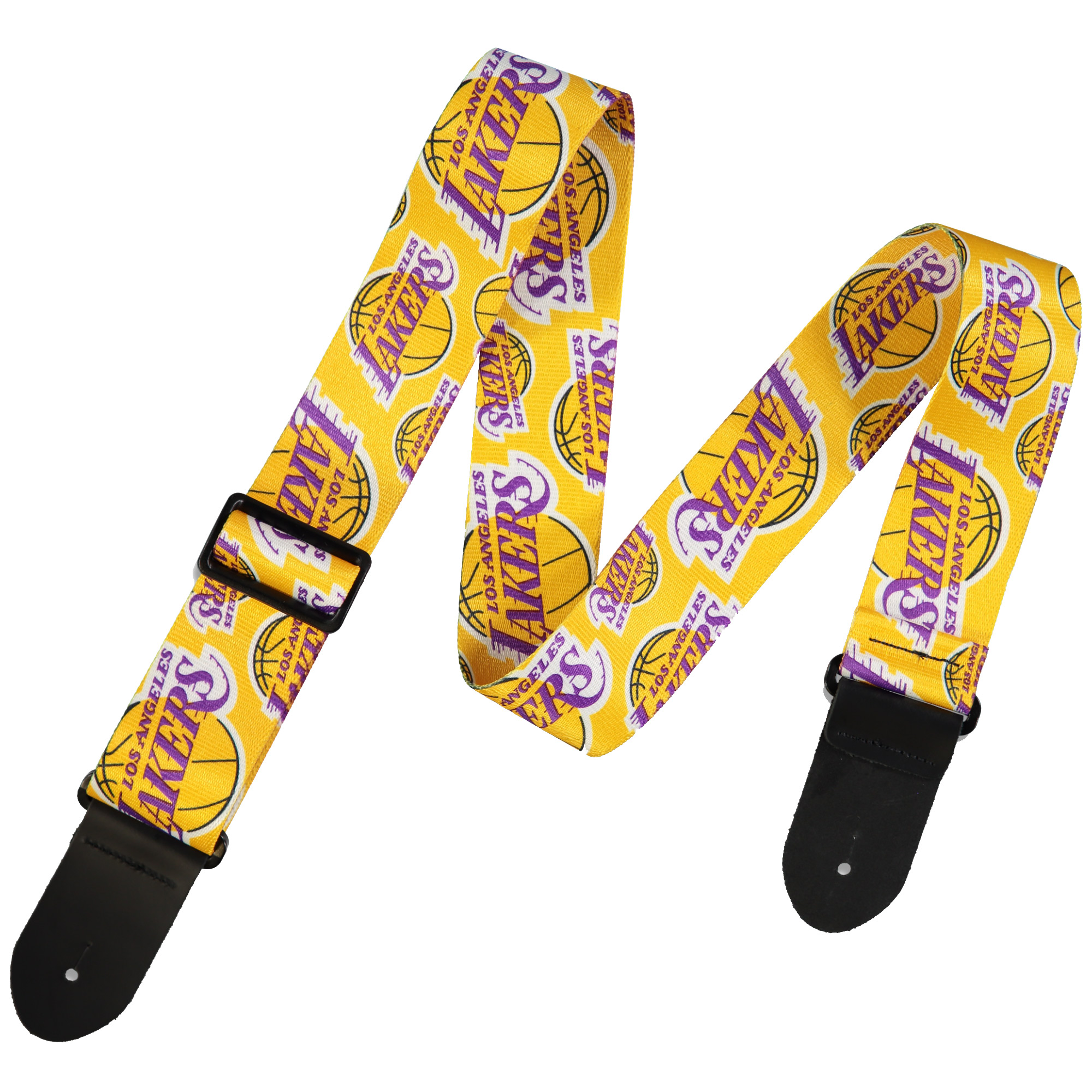 Los Angeles Lakers Woodrow Guitar Guitar Strap - No Size