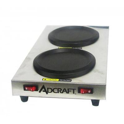 Adcraft Plates (Admiral Craft SWP Side Warmer Plate,(2)warmers)