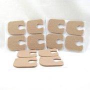 18359 Callus/Pedi-pads 1/4 Felt, 100/Pack by Aetna Felt Corporation, Qty of 1 Pack