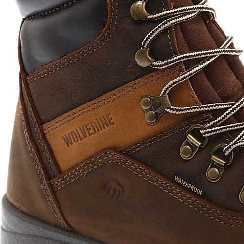 """Men's Wolverine Cabor EPX PC Dry Waterproof 8"""" Boot by Wolverine"""