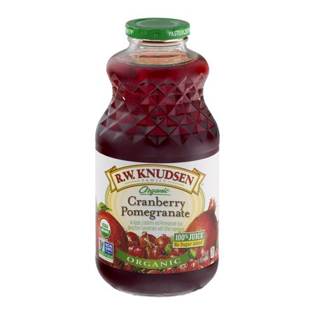 R.W. Knudsen Family Organic Cranberry Pomegranate Juice, 32 Fl. Oz. ()