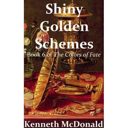 Shiny Golden Schemes - eBook - Fall Wedding Color Schemes