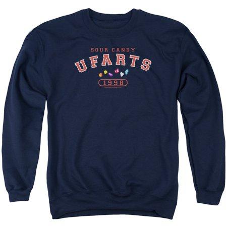 Farts Candy Sour Farts University  1998 College Adult Crewneck Sweatshirt