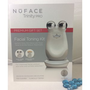 NuFACE TrinityPRO Premium Facial Toning Kit 2 Attachments