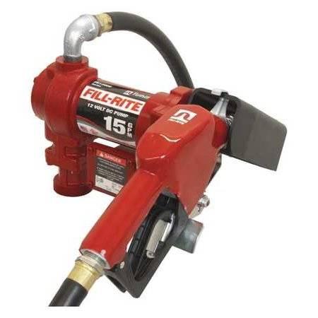Fuel Transfer Pump,15 gpm,3/4in. FILL-RITE FR1210GA