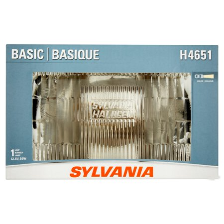 Sylvania H4651 Basic Sealed Beam Headlight, Contains 1