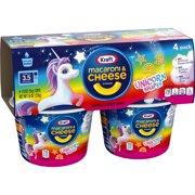 Kraft Easy Mac Unicorn Shapes Macaroni and Cheese , 4 ct - 7.6 oz. Package