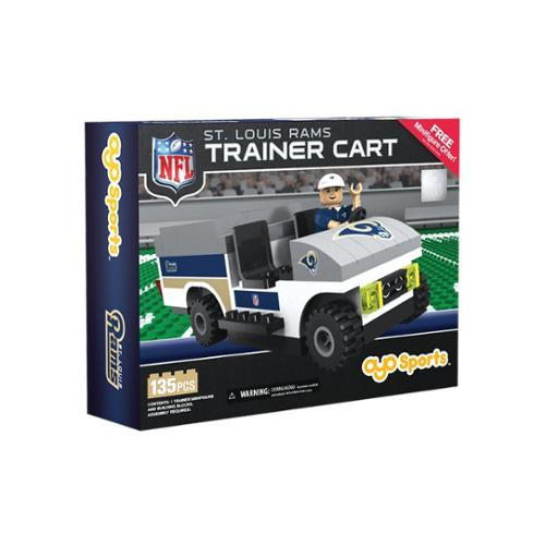 St. Louis Rams NFL OYO Sports Mini Figure Trainer Cart