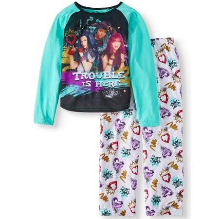 Descendants 2 Piece Pajama Sleep Set (Big Girl & Little Girl)
