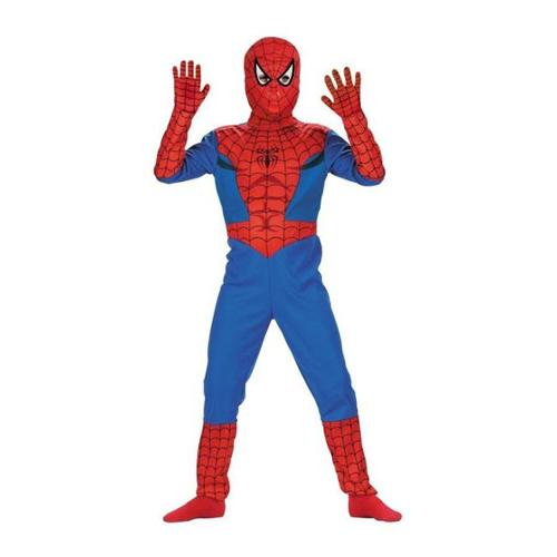 Costumes For All Occasions Dg5111L Spiderman Std Comic 4 To 6