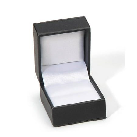 Ring Boxes Wholesale (Ring Box Black 2X1.75X1.5In)