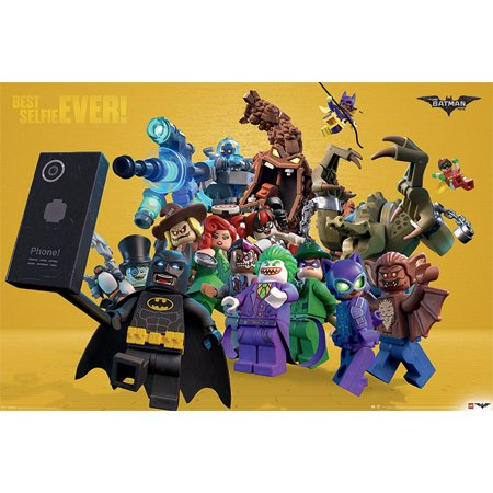 The LEGO Batman Movie - Movie Poster / Print (Best Selfie EVER!) (Size: 36