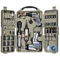 Trades Pro 71pcs DIY Starter Air Tool Accessories Kit Set Deals