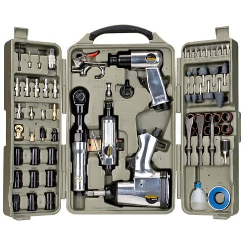 Trades Pro 71pcs DIY Starter Air Tool Accessories Kit Set w/ Case - (Best Air Tools For Home Use)