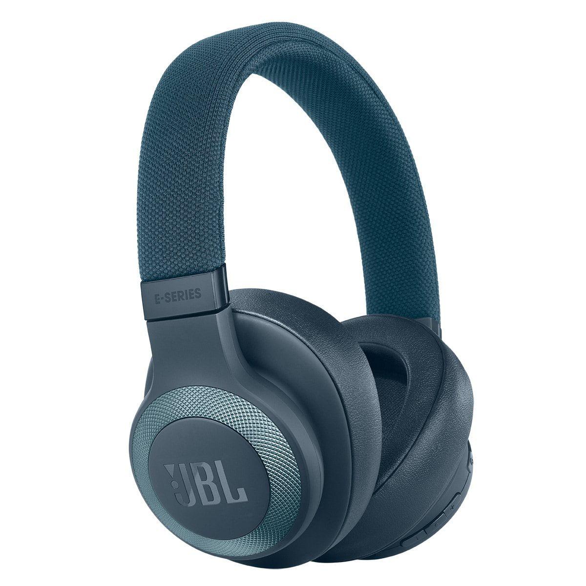 JBL E65BT Wireless Over-Ear Headphones (Blue) by JBL