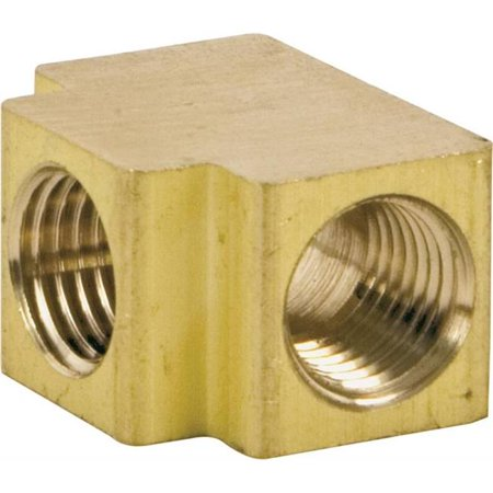 Manifold Tee - 0.25 in. FPT Manifolds Tee Fitting, Brass