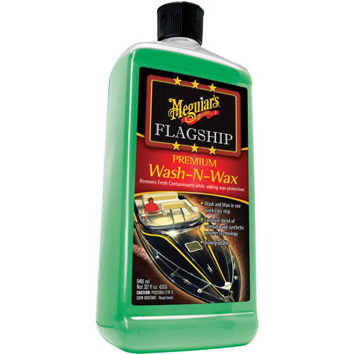 Meguiar's Marine Wash and Wax, 32 fl oz